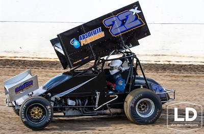Trevor Cook Sprint Car Chassis