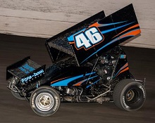 Zach McCabe XXX sprint car Chassis