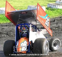 Billy Aton Sprint Car Chassis