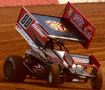 Brandon Rahmer Sprint Car Chassis