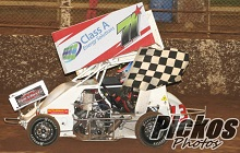 Brock Hallett XXX 600 mini Sprint Chassis