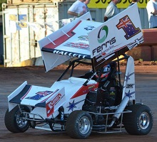 Brock Hallett 600 mini Sprint Chassis