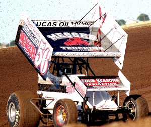 Chris Douglas Sprint Car Chassis
