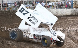 Cortney Dozier Sprint Car Chassis