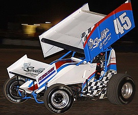 David Ferguson Sprint Car Chassis