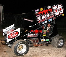 Dustin Woods Sprint Car Chassis