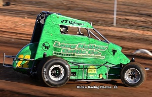 Jacob Balliet 600 Mini Sprint Chassis