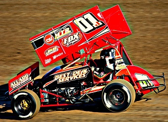 Jeb Sessums Sprint Car Chassis