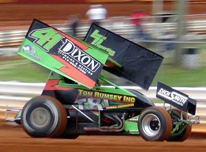 Jeff Halligan Sprint Car Chassis