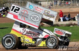 Josh Walter Sprint Car Chassis