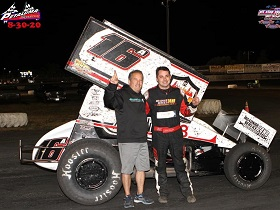 Justin Sanders Sprint Car Chassis