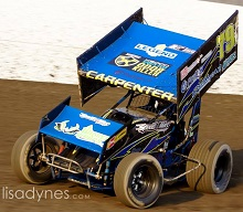 Kelsey Carpenter Sprint Car Chassis