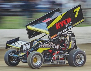Matt Leversedge  Sprint Car Chassis
