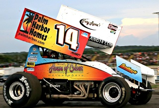 Michael Lang Sprint Car Chassis