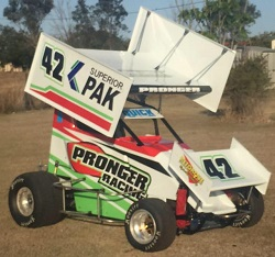 Mick Pronger 600 Mini Sprint Chassis