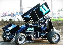 Ricky York Sprint Car Chassis