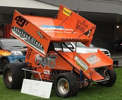 Sam O'Callaghan Sprint Car Chassis