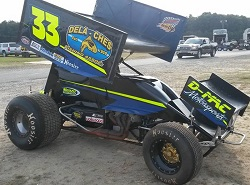 Scott Lutz Sprint Car Chassis