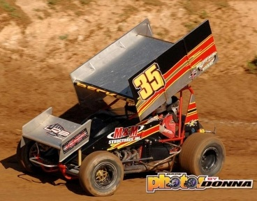 Sean Becker Sprint Car Chassis