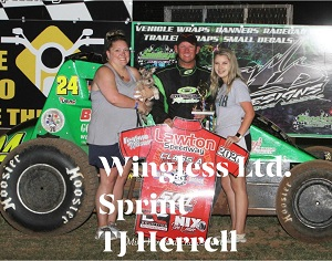 TJ Herrell Sprint Car Chassis