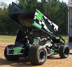 Trey Schmidt Sprint Car Chassis