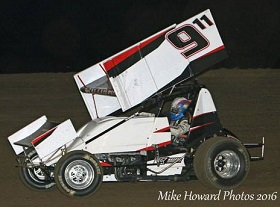 Ty Williams Sprint Car Chassis