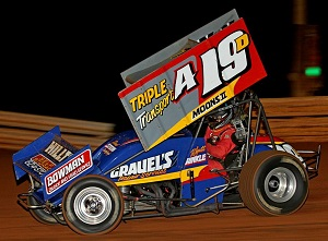 Wyatt Hinkle Sprint Car Chassis