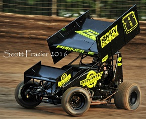 Zach Pringle Sprint Car Chassis